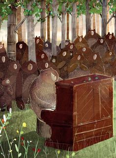 David Litchfield - The Bear and the Piano