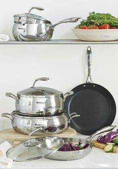 Chef Series Cookware. Our professional-grade, stainless-steel collection is made to last. MelissaKendall.my.tupperware.com