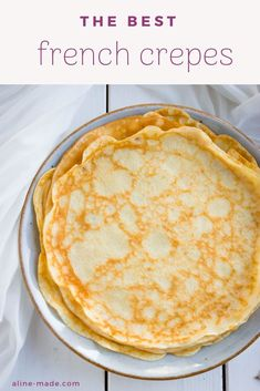 A basic recipe for French crepes. Don't you know how to make simple crepes? This… A basic recipe for French crepes. Don't you know how to make simple crepes? This easy recipe is a must know to make the best… Continue Reading → Crêpe Recipe, Batter Recipe, Basic Recipe, French Crepes Recipe Easy, Sweet Crepes Recipe, Easy Baking Recipes, Cooking Recipes, Easy Recipes For Breakfast, Cupcakes