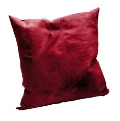O'Hare & D'Jafer - Burgundy Bovine Cushion  O'Hare and D'Jafer's Bovine cushions are a sumptuous sofa-top essential. Crafted from hide topped with Italian bovine hair, this wine-hued piece is a textural treat. What's more, it comes finished with a linen back and filled with a luxurious feather pad for added comfort. #LuxDeco #Design #Homeware