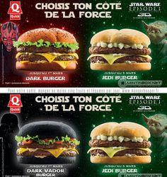 Dark Vador & Jedi Burger
