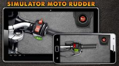 Moto And Auto Rudder  Motorcycles and Auto Steering wheel - it's a game simulator that lets you feel as a driver of the car or motorcycle. Listen to the sound of gas and signal beeps cars and motorcycles. Please everyone, especially children, show your child how to operate the wheel to turn on the gas in your car or bike handles. Take in hand phone as a motorcycle throttle control, click on it and listen to the sound, just pressing the buzzer. Play with friends or with a child riding toge...