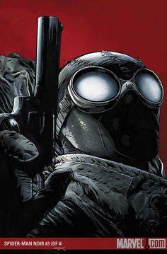 artverso:  Patrick Zircker - Spider-Man noir