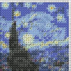 Patchwork | greyhounds on quilt | Pinterest | Best Patchwork ... : starry night quilt pattern - Adamdwight.com
