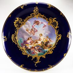 "Meissen Porcelain Manufactory (Germany) — ""The Triumph of Venus after F.Boucher"", 1850-1924 (800x800)"