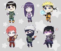 Naruto chibi stickers by Kakashi Hatake Hokage, Uzumaki Boruto, Naruto Uzumaki Shippuden, Shikatema, Sasunaru, Naruto Chibi, Anime Chibi, Anime Naruto, Naruto Sketch