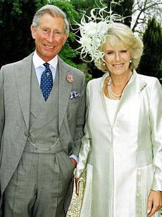 Charles and Camilla, 2005.  They do make the perfect couple.