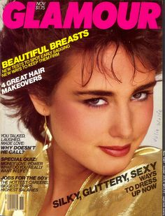 bd1ebcf17821 Julie Wolfe - Glamour US November 1981 by Alex Chatelain