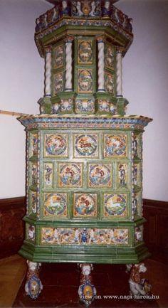 Zalaapáti, Szentkirályi-kastély, Antik Cserépkályha Múzeum
