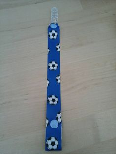 Check out this item in my Etsy shop https://www.etsy.com/uk/listing/257646663/blue-football-clip-strap