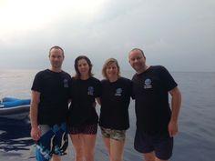 Jon, Lindsey, Janneke and Henk Similan Islands, Thailand