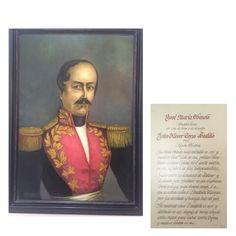 Óleo a José María Obando en Casa Museo Batallón No. 14 de Infantería - Quinta Brigada del Ejército de Colombia
