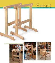Article and explanation of Krenov's sawhorses