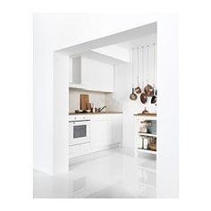 KNOXHULT Kitchen High-gloss white IKEA | Pinterest | Basin mixer ...