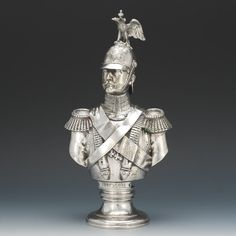 A silver bust of Tsar Nicholas I.  ROYAL RUSSIA: News, Videos & Photographs About the Romanov Dynasty, Monarchy and Imperial Russia - Updated Daily