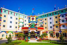 Un hôtel tout en LEGO vient d'ouvrir ses portes en Floride !