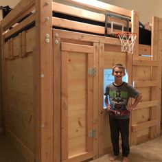 Plans For Boat Houses College Loft Beds, Home Depot, Queen Loft Beds, Loft Flooring, Boat Bed, Loft Bed Plans, Twin Xl Mattress, Dreams Beds, Natural Bedding