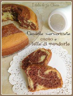Ciambella cacao e latte di mandorle, with our Tray Stella #Poloplast