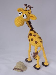 Following this pattern Geoffrey the Giraffe will be approximately 35 cm by 25 cm.   The pattern is available in English and can be purchased in my Etsy shop or on Craftsy. After completion of your order the PDF file containing the pattern can be downloaded immediately from Etsy or Craftsy. More photos available on […]
