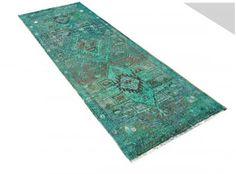6.2 X 2.6 FT 187 X 79 Cm Handmade Persian Vintage by RetroRugs