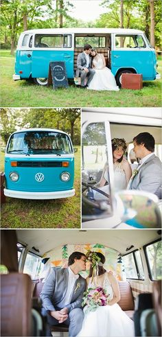 Easy Purple and Gold Wedding Ideas complete with a VW Bus photobooth! photographed by Deisy Photography. Wedding Car, Wedding Pics, Wedding Shoot, Trendy Wedding, Perfect Wedding, Dream Wedding, Wedding Ideas, Wedding Dresses, Fall Wedding