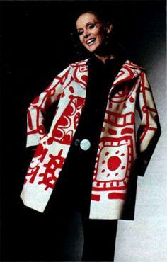theswinginsixties:  Fashion by Louis Féraud, 1960s.