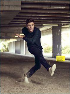 Nino Muñoz photographs Zac Efron in HUGO Hugo Boss.
