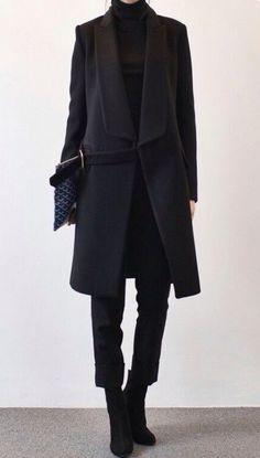 love the stylish black Street Style Jeans, Looks Street Style, Looks Style, Looks Cool, Style Me, Black Style, Black Work, Fashion Moda, Look Fashion