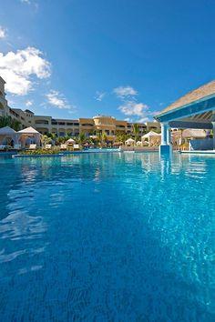 Swim up Bar! Iberostar Grand Hotel Rose Hall Hotel - Montego Bay - Jamaica