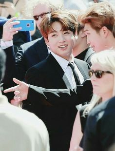 JungKook in Billboard Red Carpet