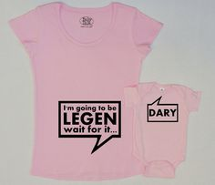Legendary HIMYM Maternity set- must have!! No I'm not pregnant, just getting ideas for when/if friends have a babies!