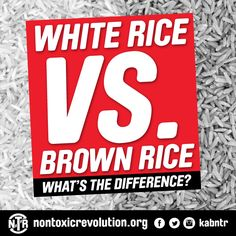 Brown Rice: What's the difference? White Rice, Brown Rice, Low Fat Diets, We Energies, Your Mouth, What You Eat, Eating Well, Health And Beauty, Revolution