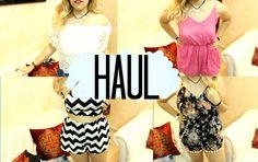 Fashion haul by María Vergara | Lookbook Store Fashion in Action #LBSMovingFashion