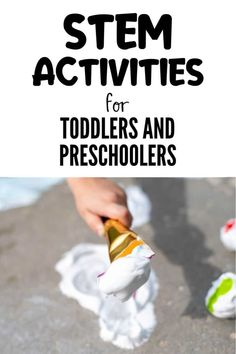 STEM Activities for Preschoolers and Toddlers