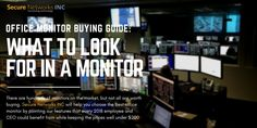 Office Monitor Buying Guide: What to Look for in a Monitor Multiple Monitor Setup, Tech News, Range, Good Things, Marketing, Type, Learning, Business, Blog