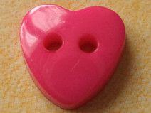 15 KINDERKNÖPFE pink 13 x 13mm (3074)kleine Knöpfe