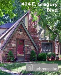 424 E. Gregory. 3 Bed 2 Bath Charming Brookside tudor home with updated kitchen w/ granite & breakfast room! Listing courtesy of Blake Nelson Keller Williams. For more information: http://www.urbancoolkc.com/weekly-top-cool-houses.html