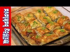 Kolay Baklava   Milföy Baklava   Pişirmece - YouTube