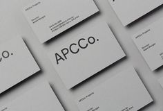 Picture of 4 designed by The Colour Club for the project APCCo. Projects. Published on the Visual Journal in date 12 September 2017