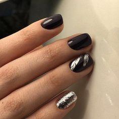 Красота коротких ногтей. Фото маникюра.