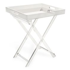 Accent Furniture - lucite tray table from Zara Home