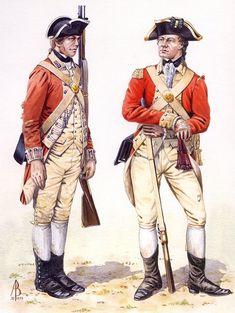 British Army Uniform, British Uniforms, British Soldier, British Marine, Military Insignia, Military Art, Military History, Military Uniforms, American Revolutionary War