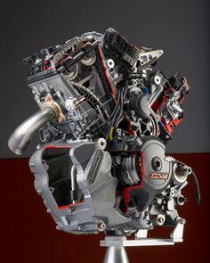 KTM v-twin engine Motor Engine, Motorcycle Engine, American Motorcycles, Racing Motorcycles, Ktm Adventure, Motogp Race, Motorcycle Mechanic, Race Engines, New Engine