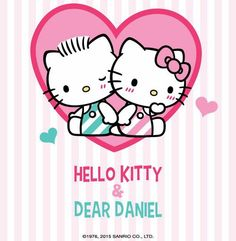 Image via We Heart It https://weheartit.com/entry/163891502 #daniel #dear #hellokitty #love #wallpaper #fondo