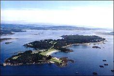 ISLA DE LA TOJA - Encantadora isla gallega ubicada en las Rías Baixas. #nuevovichona
