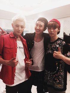 Tao, Zhoumi, and Luhan