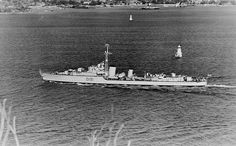 5150. With the WWII gunnery officer Commander Warwick Bracegirdle in command, BATAAN heads out for the second of her three tours with United Nations forces off Korea.  On this occasion she will replace the frigate HMAS MURCHISON, and not return to Sydney until September. She was paid off into reserve on June 17, 1954, and sold for scrapping by T. Carr and Co. in Sydney in 1958.   Photo: Credited John Bastock Collection, it appeared in the late Mr Bastock's limited edition book 'Australia's…