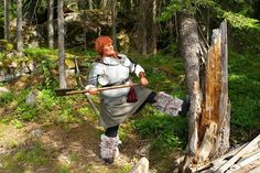 My larp character was dwarf called Fulbra.