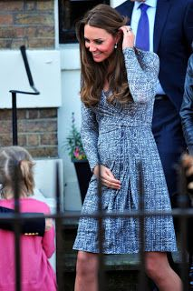 My Intimate Affair with Fashion: Kate Middleton Pregnancy Style Wrap Dress