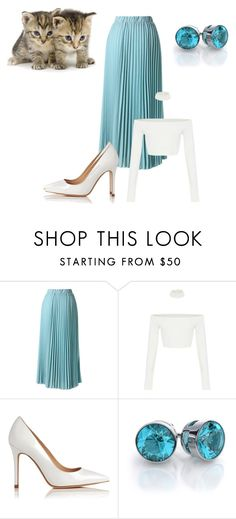 """Untitled #221"" by shri19 ❤ liked on Polyvore featuring Chicwish and L.K.Bennett"